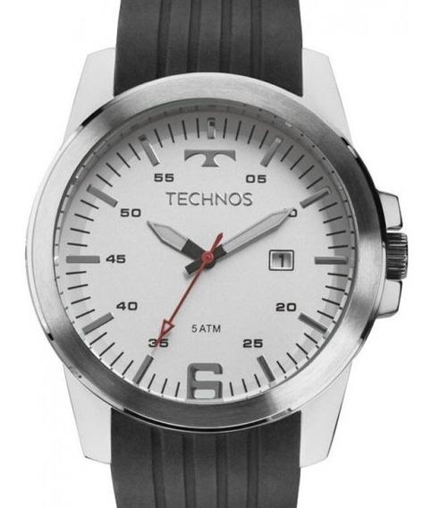 Relógio Technos Masculino Classico Prata