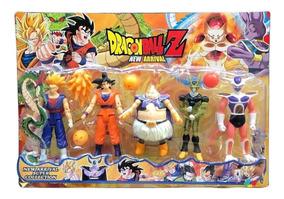 Kit 15 Bonecos Dragon Ball Goku Bills Boo Action Figure S180