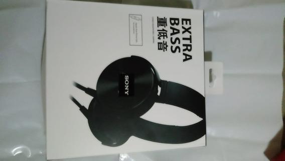 Fone Som Extra Bass Sony