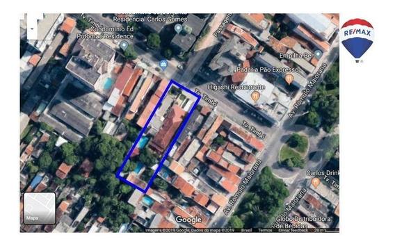 Terreno Para Incorporação, 1625 M² - Marco - Belém/pa - Te0027