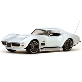 Miniatura Carro Vitesse Corvette Coupe-can-am 1969 Escala 1/