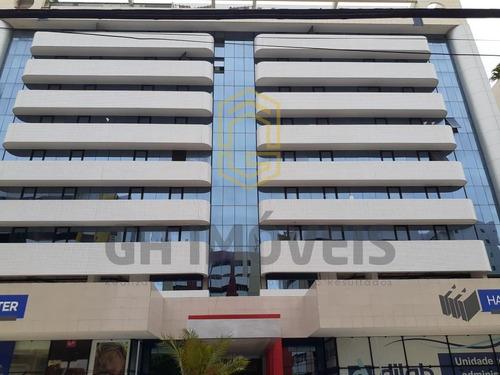 Sala Comercial Com Varanda E 3 Banheiros No Harmony Trade Center 87 M² ! - 892