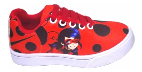 Tênis Ladybug Infantil Feminino Barato Vários Modelos Brinde