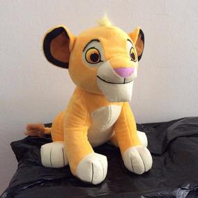Pelúcia Filhote Simba Rei Leão 30 Cm