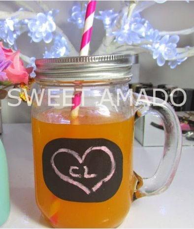 1 Pote Jarra Copo Caneca Ball Mason Jar Da Sweet Amado