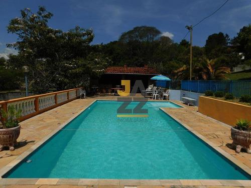 Chácara Com 7 Quartos À Venda, 6065 M² Por R$ 2.800.000 - Jardim Estância Brasil - Atibaia/sp - Ch0676