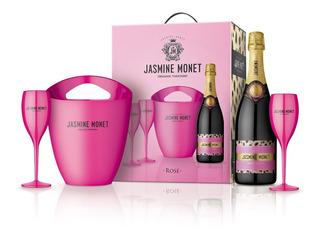 Champagne Jasmine Monet - Pink Rosé Kit