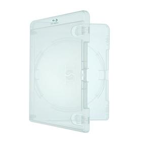 25 Estojo Capa Caixa Box Bluray Transparente Amaray Com Logo
