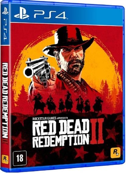 Red Dead Redemption 2 Ps4 Mídia Física Lacrado Original