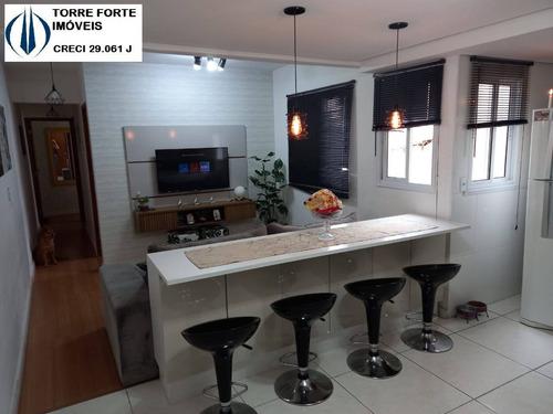Apartamento Cobertura  Com 2 Dormitórios, 1 Suíte E 2 Vagas Na Vila Humaita - 2327