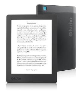 Ebook Reader Kobo Aura H2o Segunda Edicion Sumergible 8gb (h/6000 Libros) Pantalla De 6,8 Pultgadas Con Luz Led