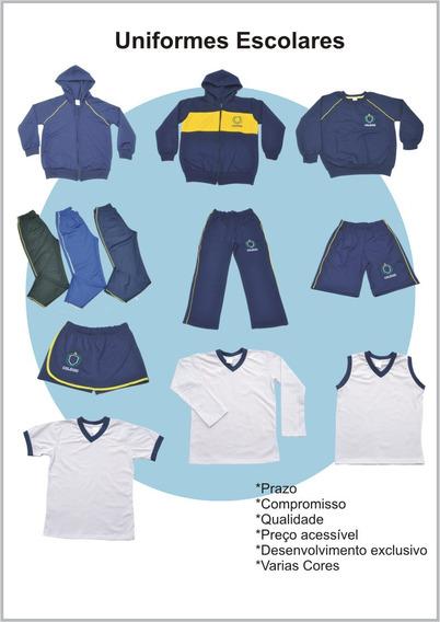 Kit 3 Calça Uniforme Escolar