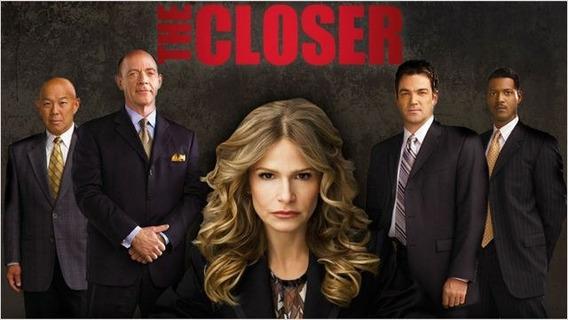 Seriado The Closer 7 Temporada Completa Dublado + Encarte