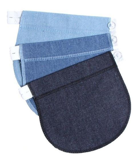 Set 3 Extensores Pantalón Maternidad Bandas Jeans Embarazo