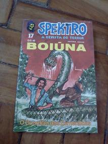 Spectro - A Revista Do Terror Nº 17 - Boiúna