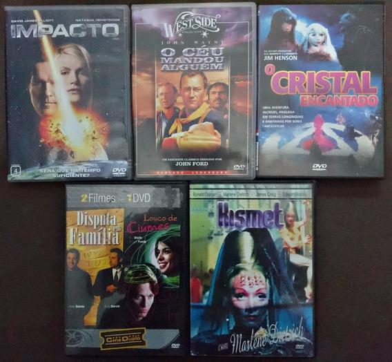 Dvd Filmes Lote Com 5 Filmes Originais Em Dvd