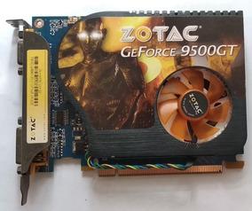 Placa De Video Geforce 9500gt 1gb Gamer + Processador Brinde