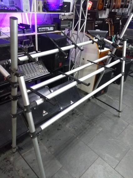 Rack Para Dj Titanium Profissional Performace