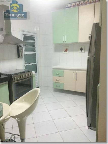 Sobrado Com 3 Dormitórios À Venda, 120 M² Por R$ 560.000 - Vila Scarpelli - Santo André/sp - So0083