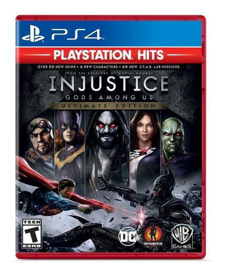 Injustice Ps4 Gods Among Us: Ultimate Edition Português