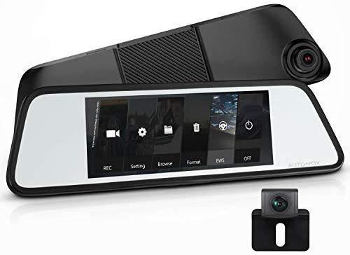 Dash Cam Auto Vox M8 Touch Screen Full Hd + Câmera De Ré