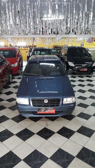 Fiat Uno Mille Fire 1.0 Ano 2005 Azul 2 Portas