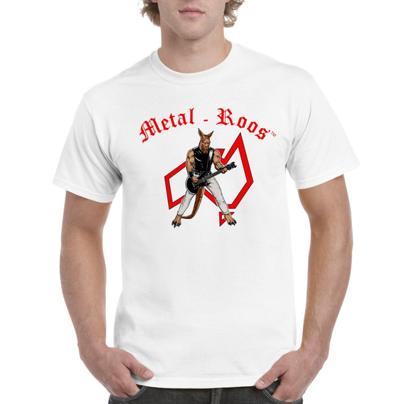 Linda Camiseta Nuevo Modelo Metal Roos