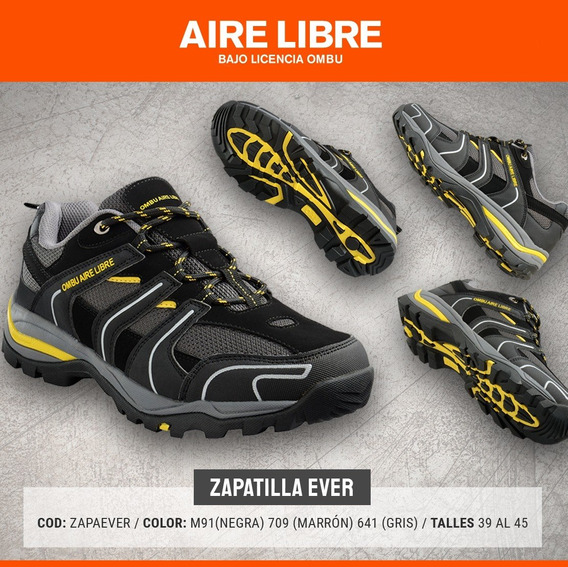 Zapatilla Treking Ombu Aire Libre Everest - Siseb