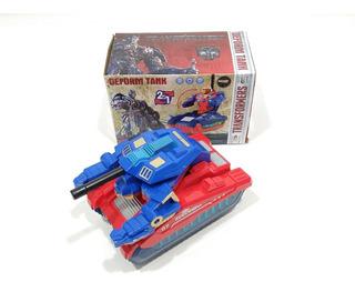 Transformers. Tanque Con Luz. A Pila. Juguete Pacho
