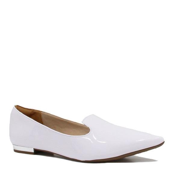 Sapatilha Zariff Shoes Loafer Verniz Bico Fino 2082-278