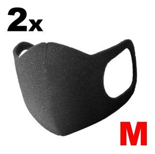 Mascara Airmask Material Confortável Kit Com 2 - Tamanho M