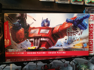 Optimus Prime Edición Platino Platinum Edition Rooster Year
