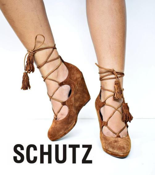 Anabela Schutz Com Amarração (promoção)