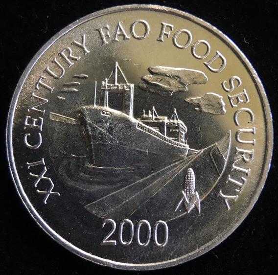 Panama, Centesimo, 2000. Fao. Canal De Panamá. Sin Circular