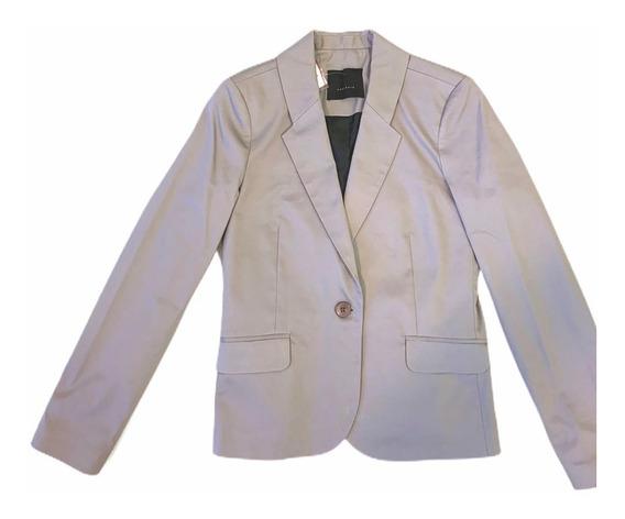 Saco Blazer Slim Fit Entallado Ropa De Trabajo Uniforme X6