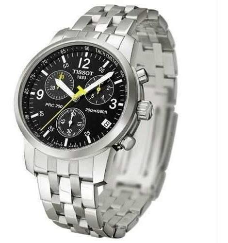 Relógio Tissot Prc 200 T17.1.586.52 Preto Aço 40mm Original