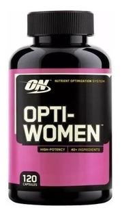 Multivitamínico Importado Opti-women 120 Capsulas - Envio Já