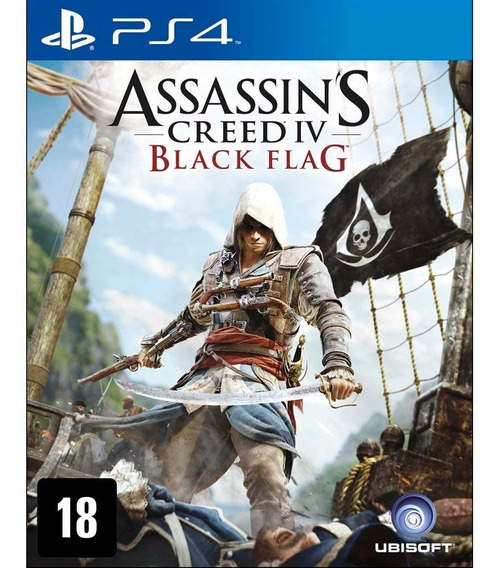 Assassins Creed Iv Black Flag Ps4 Game Digital Envio 10min.