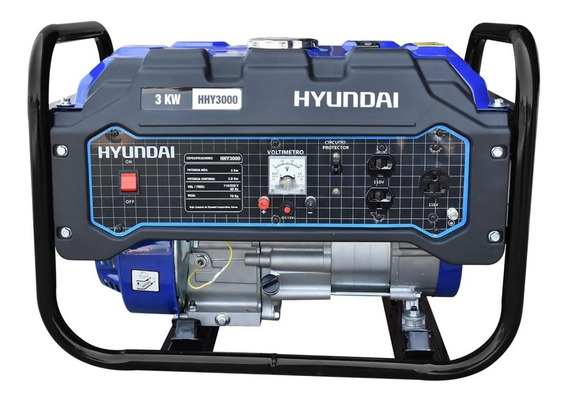 Generador Planta De Luz Hyundai 3,000w 110/220v 7.5hp