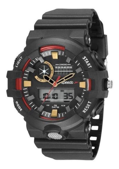 Relógio Masculino Speedo Esportivo Anadigi 81181g0evnp2 - Pr