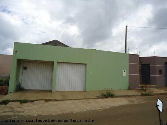 Casa Para Venda Em São Carlos, Jardim Embaré, 1 Dormitório, 1 Banheiro, 2 Vagas - Lc295