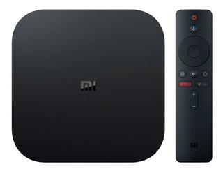 Xiaomi Mi Tv Box S-4k-smart Tv-netflix-chromecast-garantia!