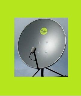 Antena Parabolica Satelital 76cm Reforzada Mendoza