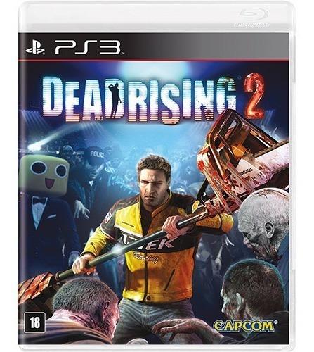 Game Play3 - Dead Rising 2 - Semi-novo Jogo Ps3