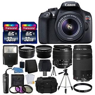 La Cámara Canon Eos Rebel Digital Slr T6 Canon 18-55mm Ef-s