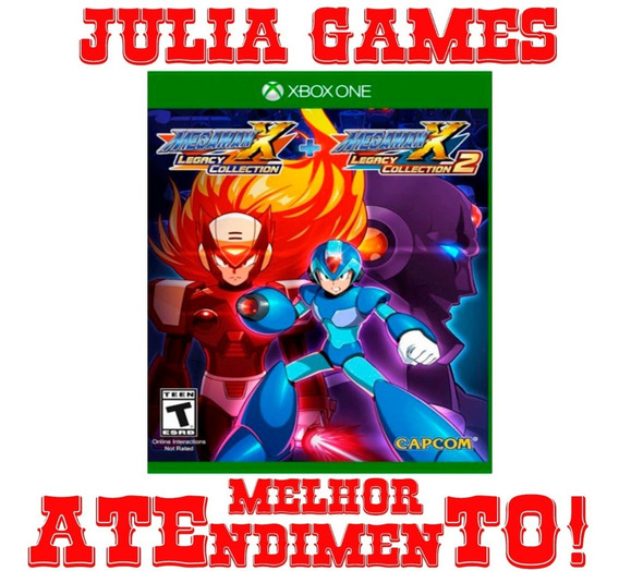 Mega Man X Collection 1 + 2 Xbox One Offline + Brinde