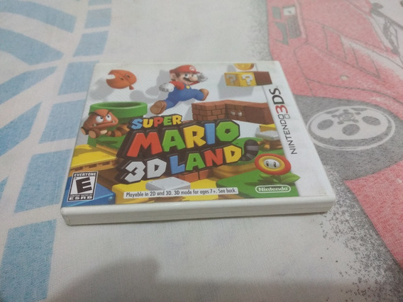 Super Mario 3d Land Original Completo Para Nintendo 3ds