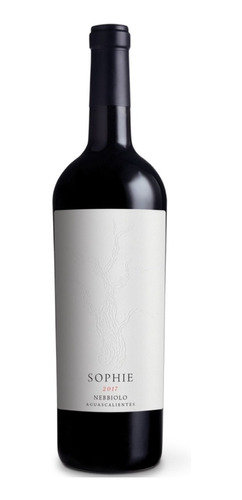 Imagen 1 de 3 de Vino Tinto Nebbiolo Sophie Vinicola Santa Elena 750 Ml