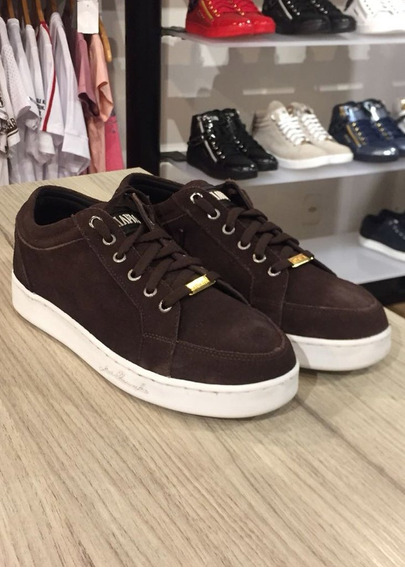 Tenis Maculino La Mafia Basic Brown Lm102205-115