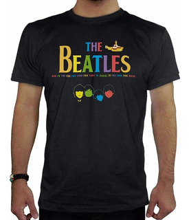 Remeras Estampadas Personalizadas The Beatles2 Hombre